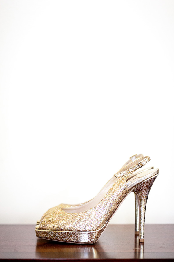 Jimmy Choo Clue Gold