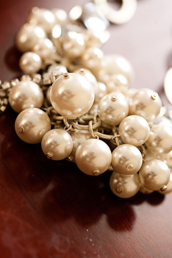 Lee Angel Pearl Cluster Necklace
